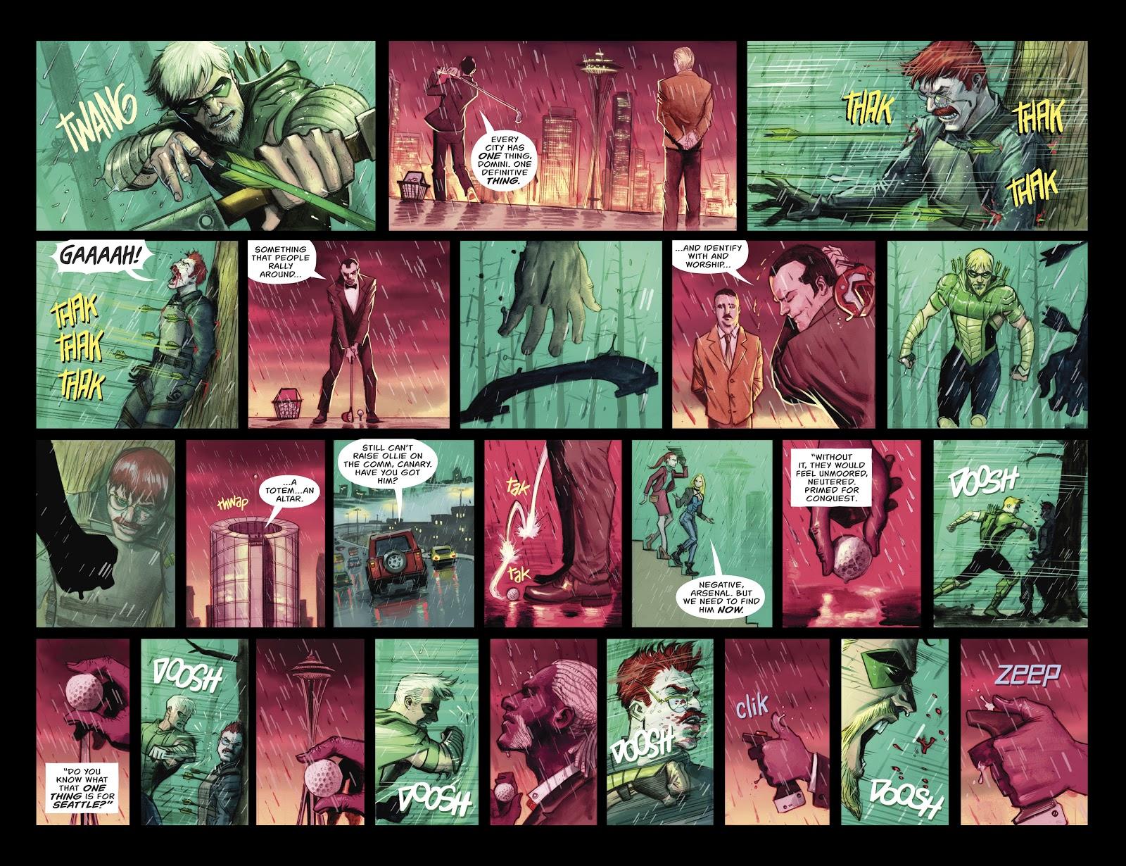Green Arrow Tortures Eddie Fyers