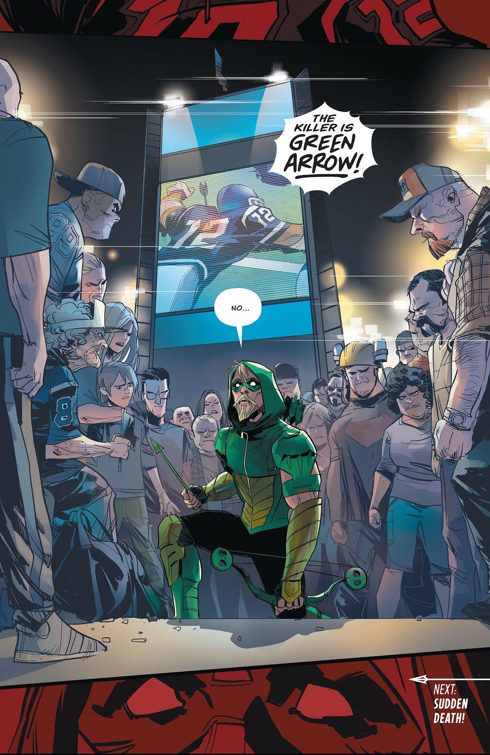 Green Arrow Vol 6 #13