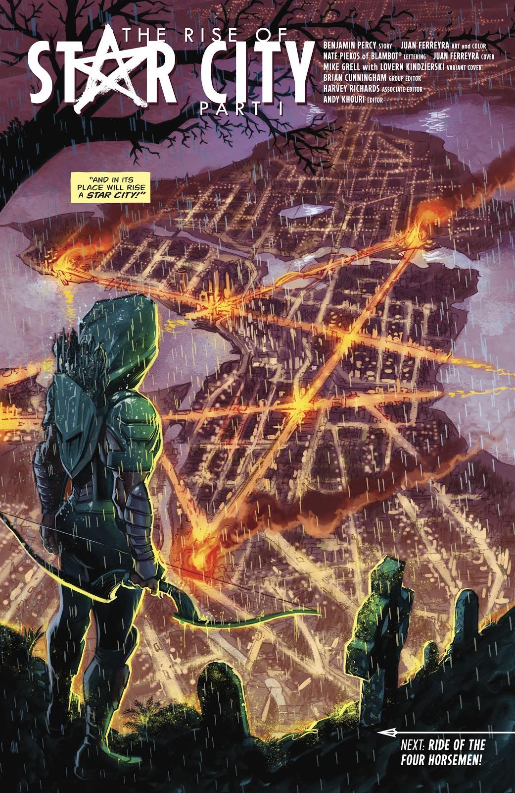 Green Arrow Vol. 6 #21