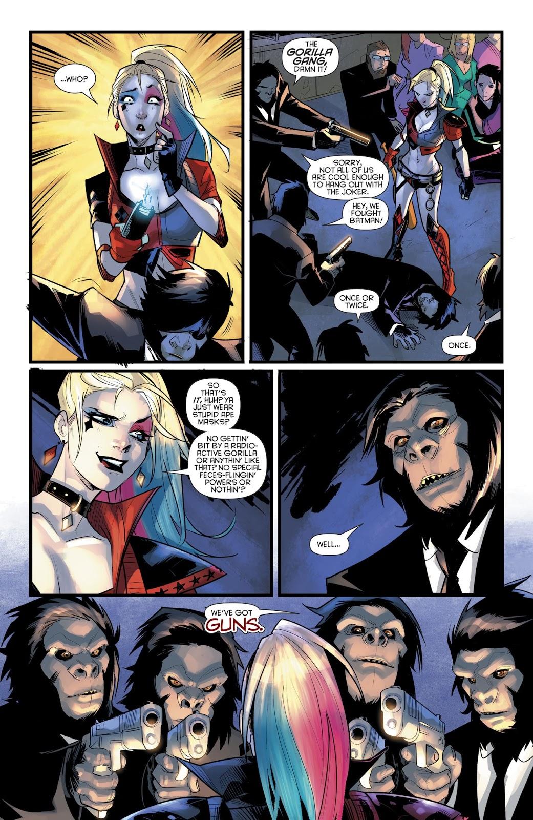 Harley Quinn VS The Gorilla Gang