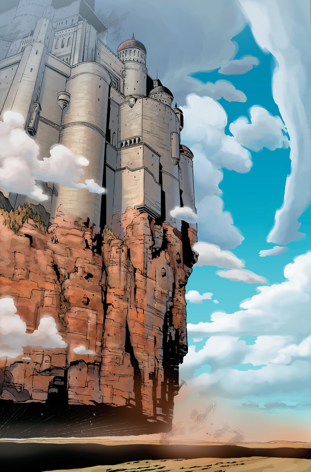 Asgard Floating Over Oklahoma