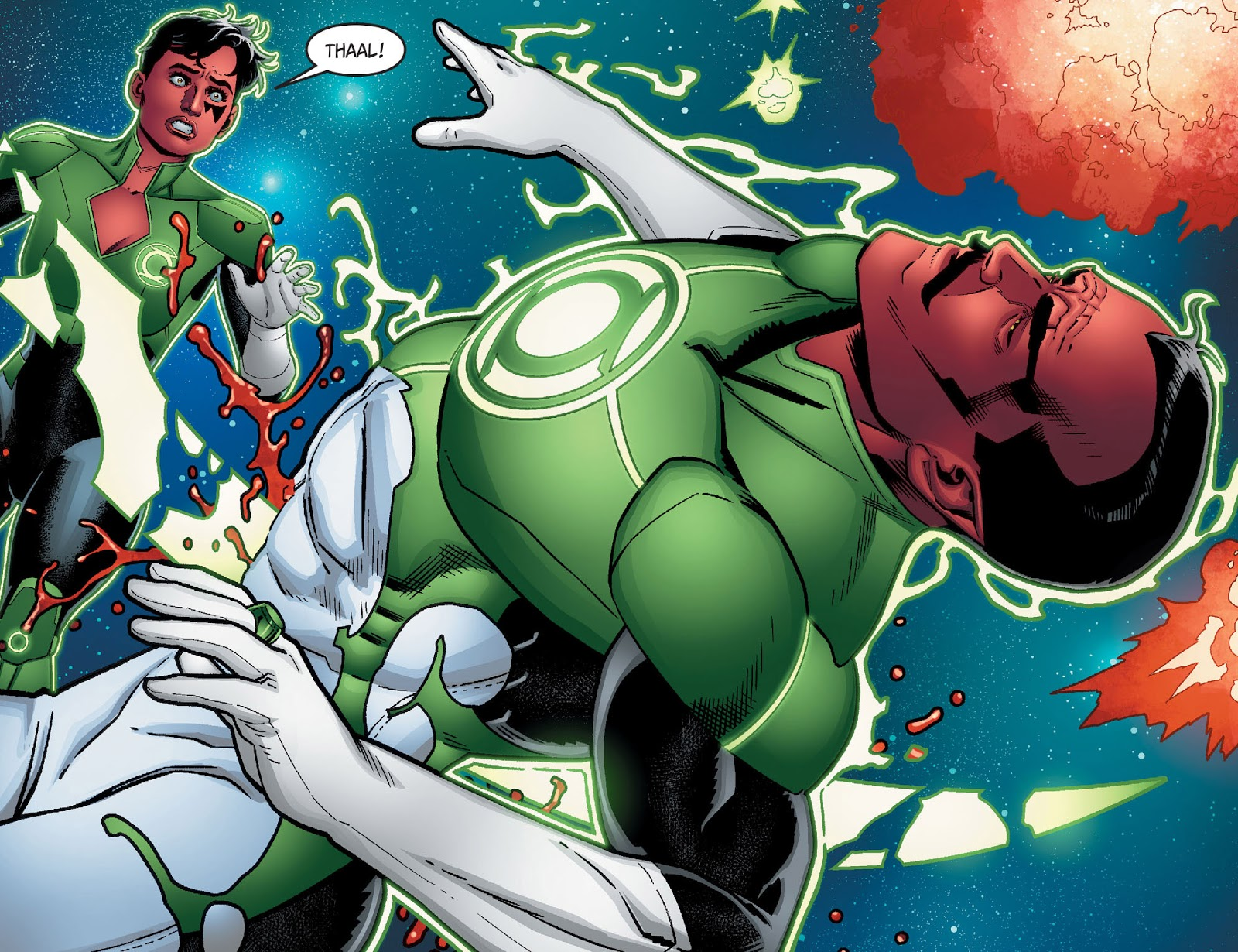 Death Of Sinestro (Injustice II)