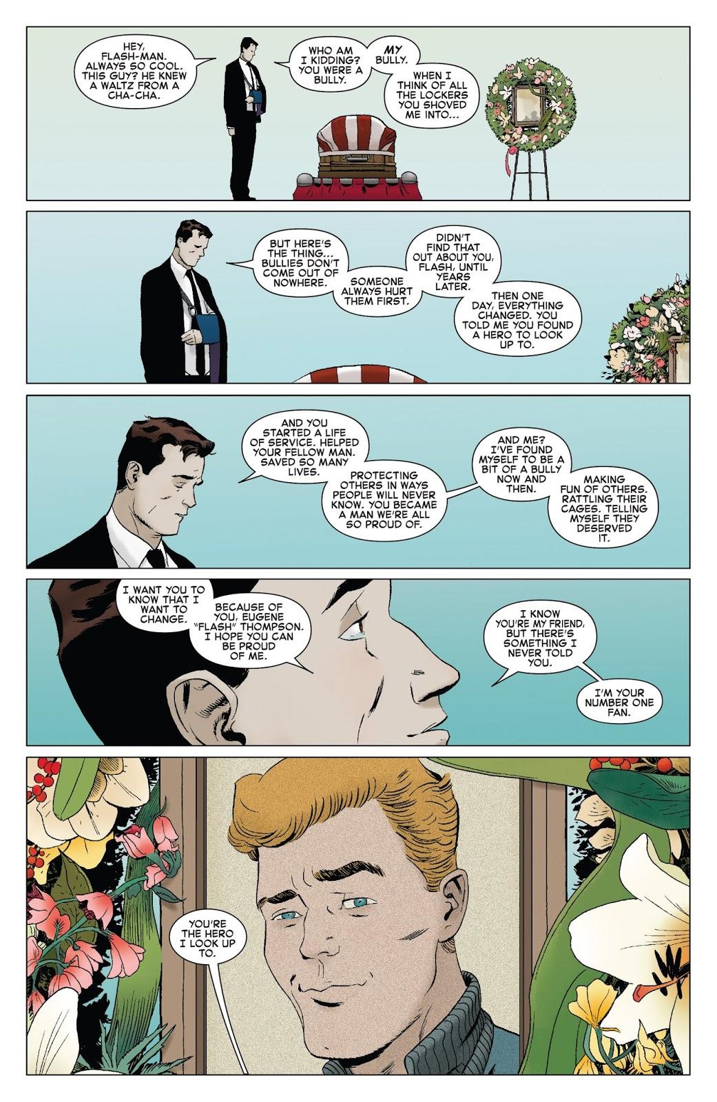 Flash Thompson's Funeral