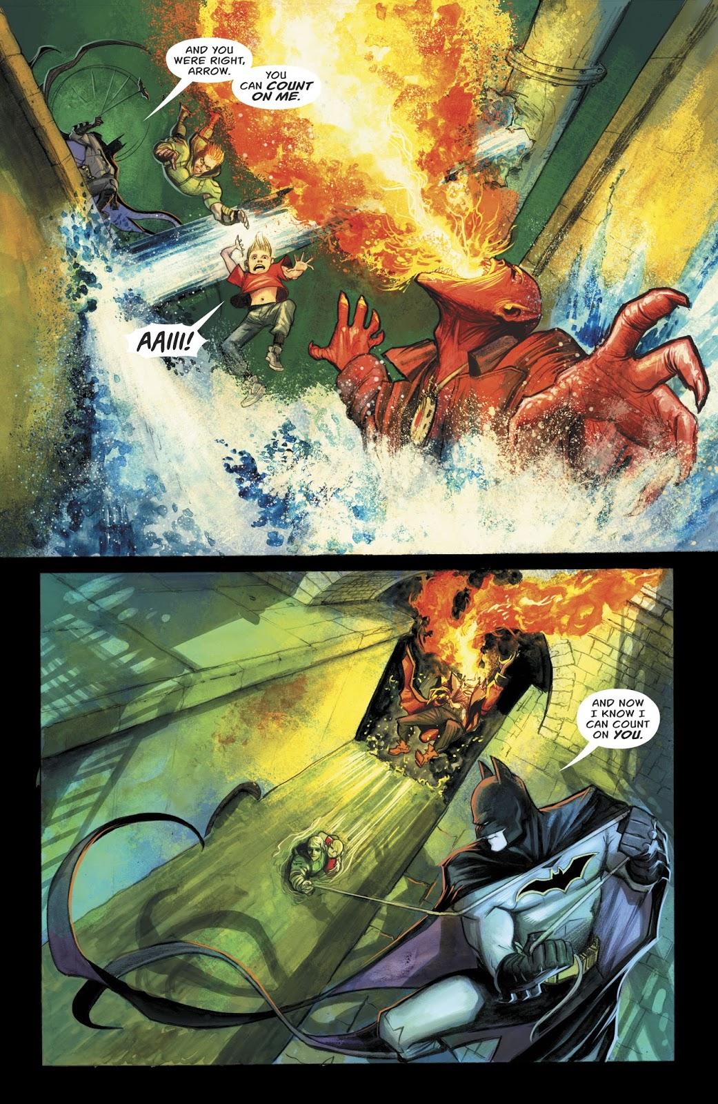 Green Arrow And Batman VS The Burned