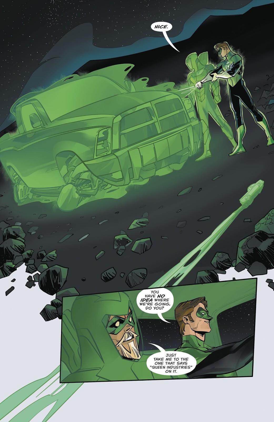Green Arrow And Green Lantern Team Up (Rebirth)