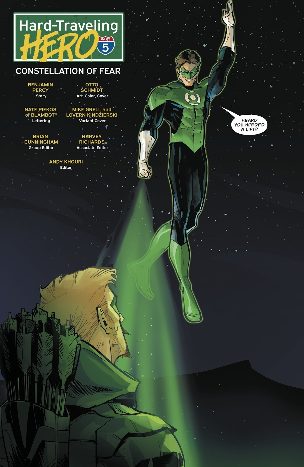 Green Lantern (Green Arrow Vol. 6 #30)
