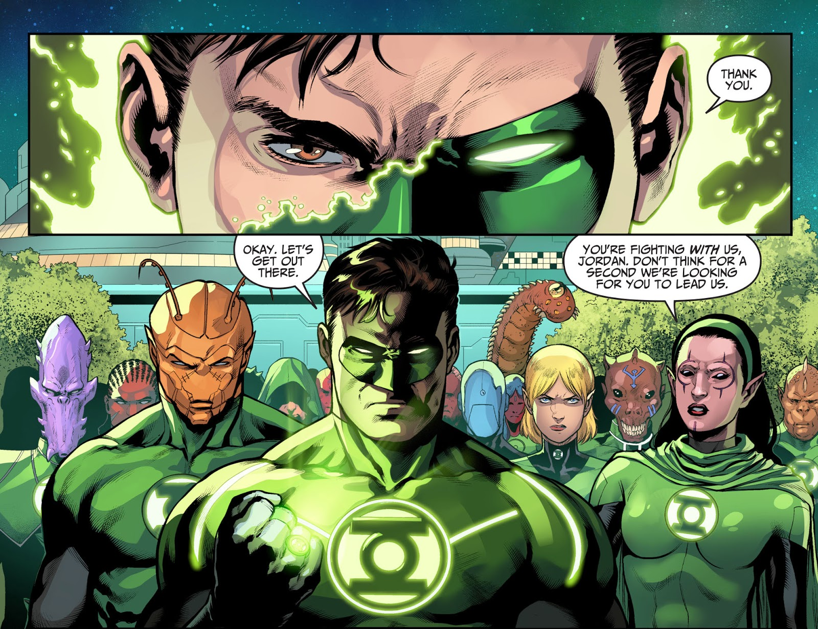 Hal Jordan Becomes A Green Lantern Again (Injustice II)