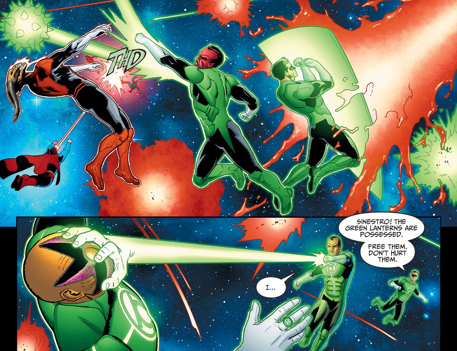 Hal Jordan Is Sinestro's Best Student (Injustice II)