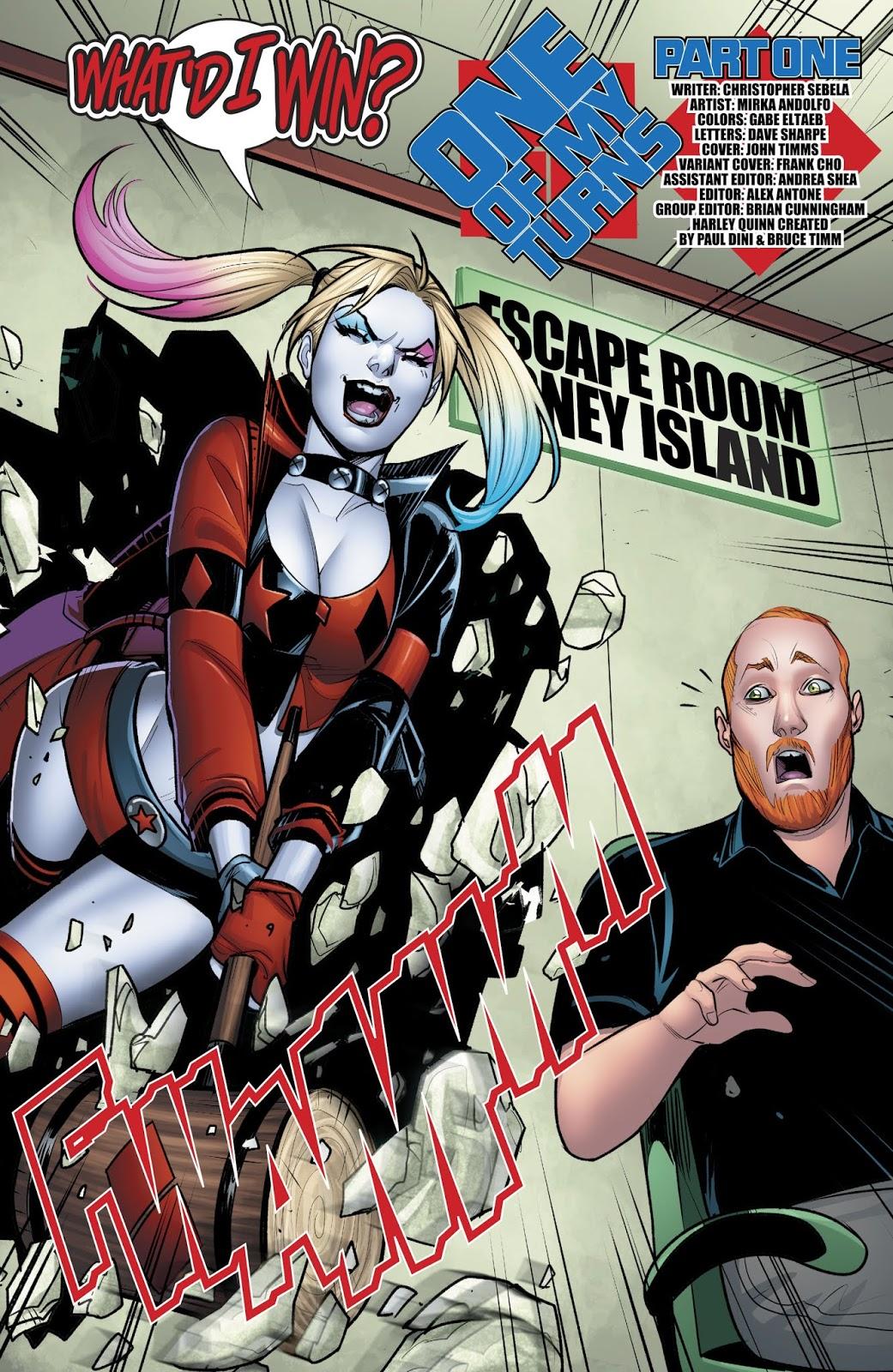 Harley Quinn Vol. 3 #43