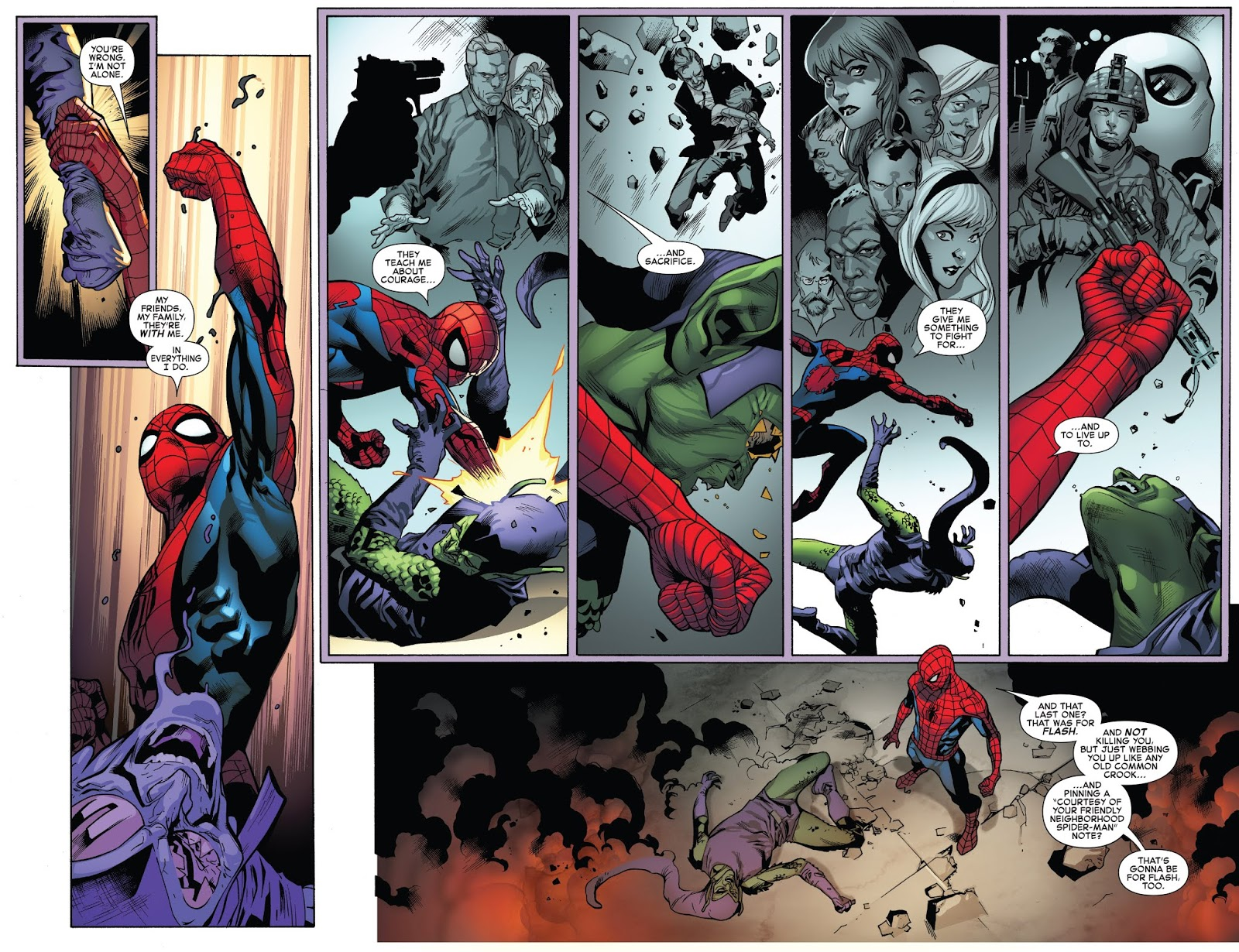 How Spider-Man Beat The Red Goblin