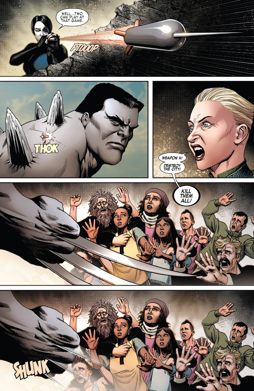 How Weapon X Saved Hulkverine