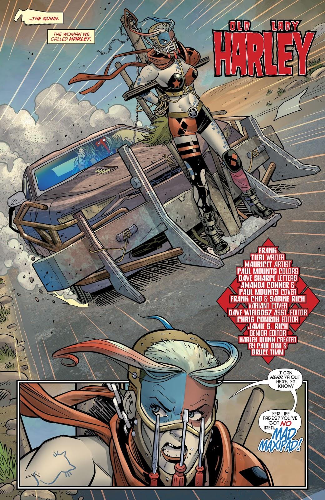 Mad Max Harley Quinn