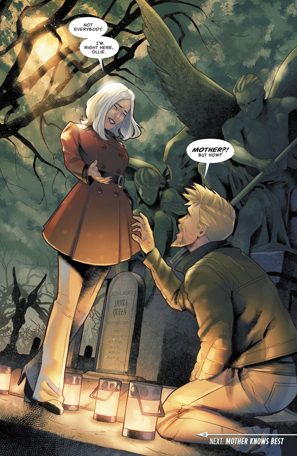 Moira Queen (Green Arrow Vol. 6 #33)