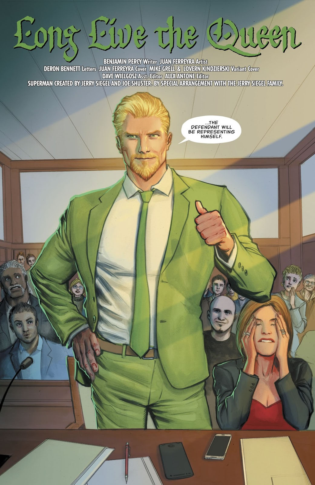 Oliver Queen (Green Arrow Vol 6 #38)