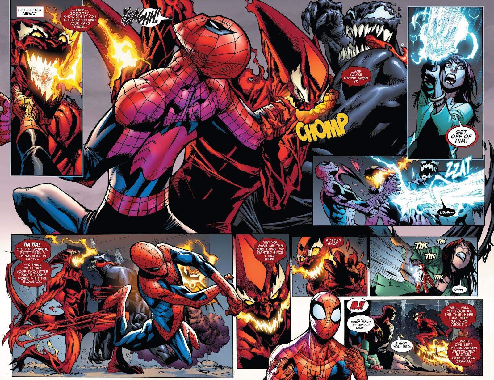 Spider-Man And Venom VS Red Goblin