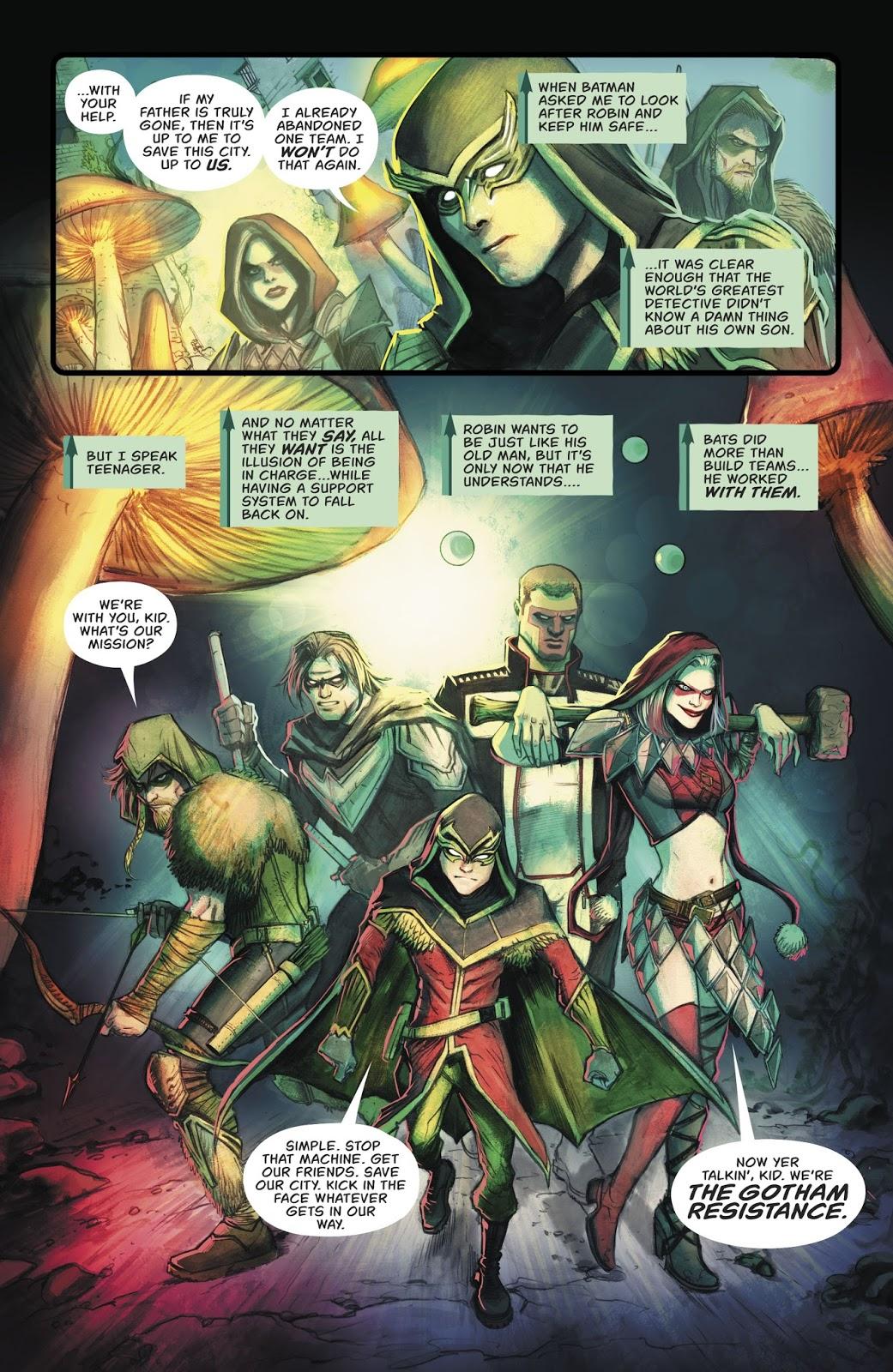 The Gotham Resistance (Green Arrow Vol 3 #32)