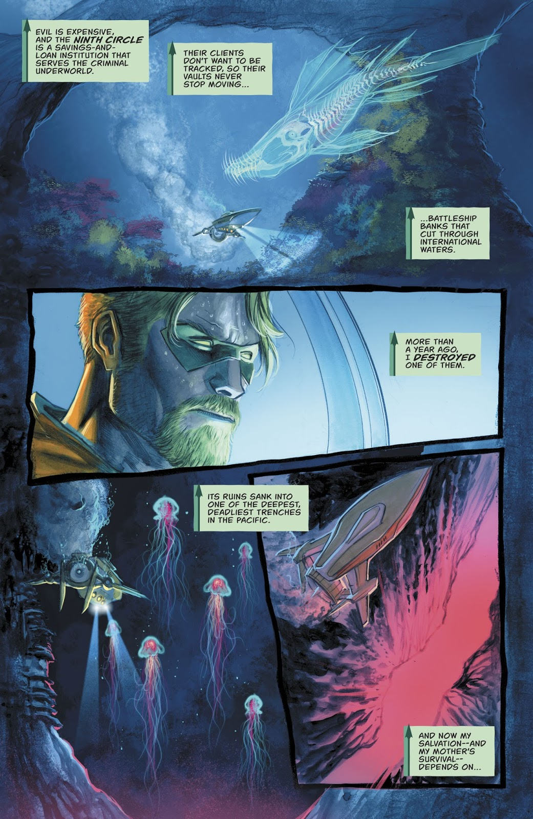 The Inferno (Green Arrow Vol 6 #35)