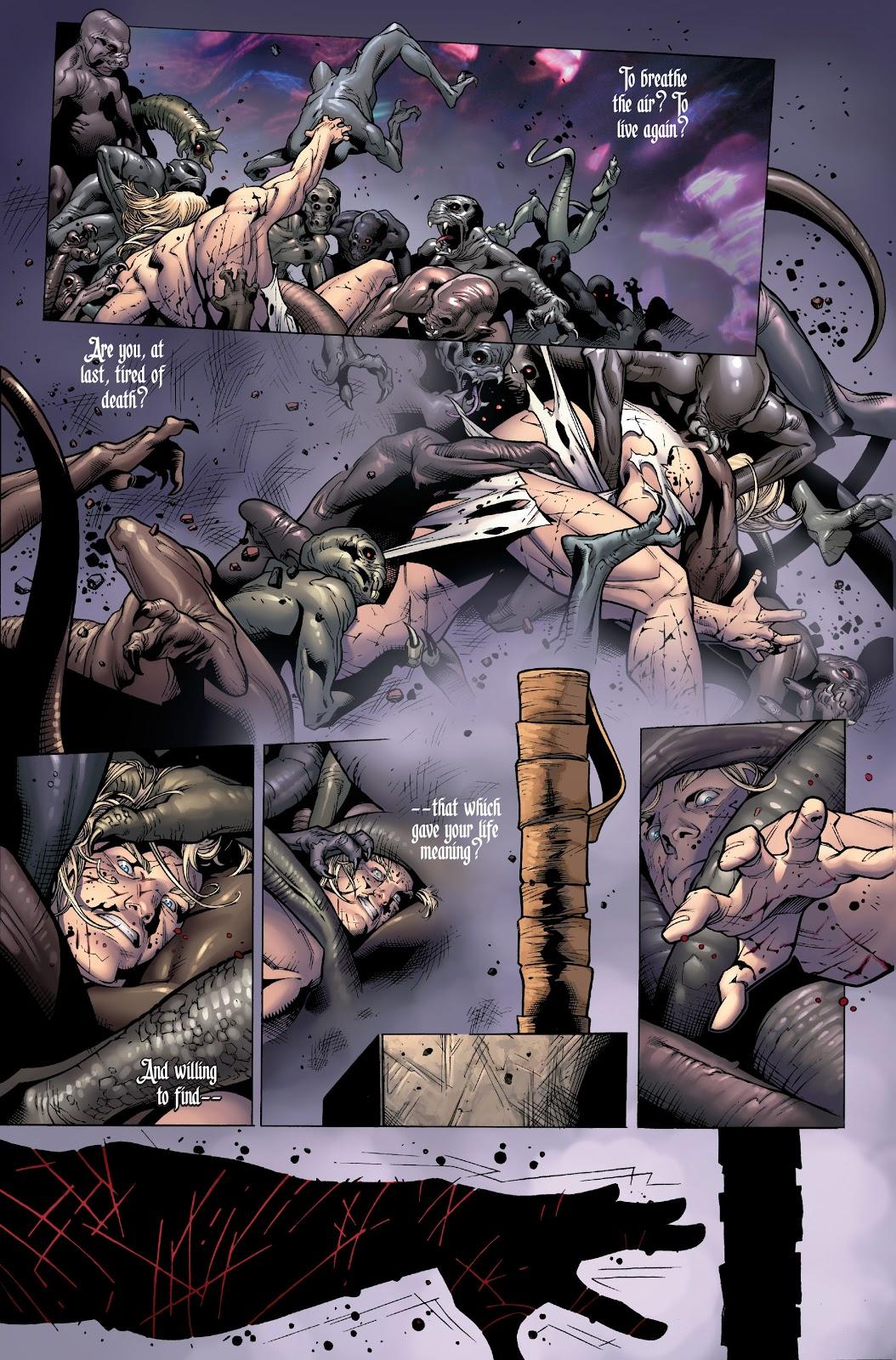 Thor Comes Back To Life (Post Civil War)