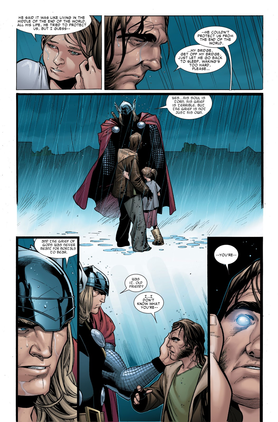 Thor Summons Heimdall From His Mortal Body