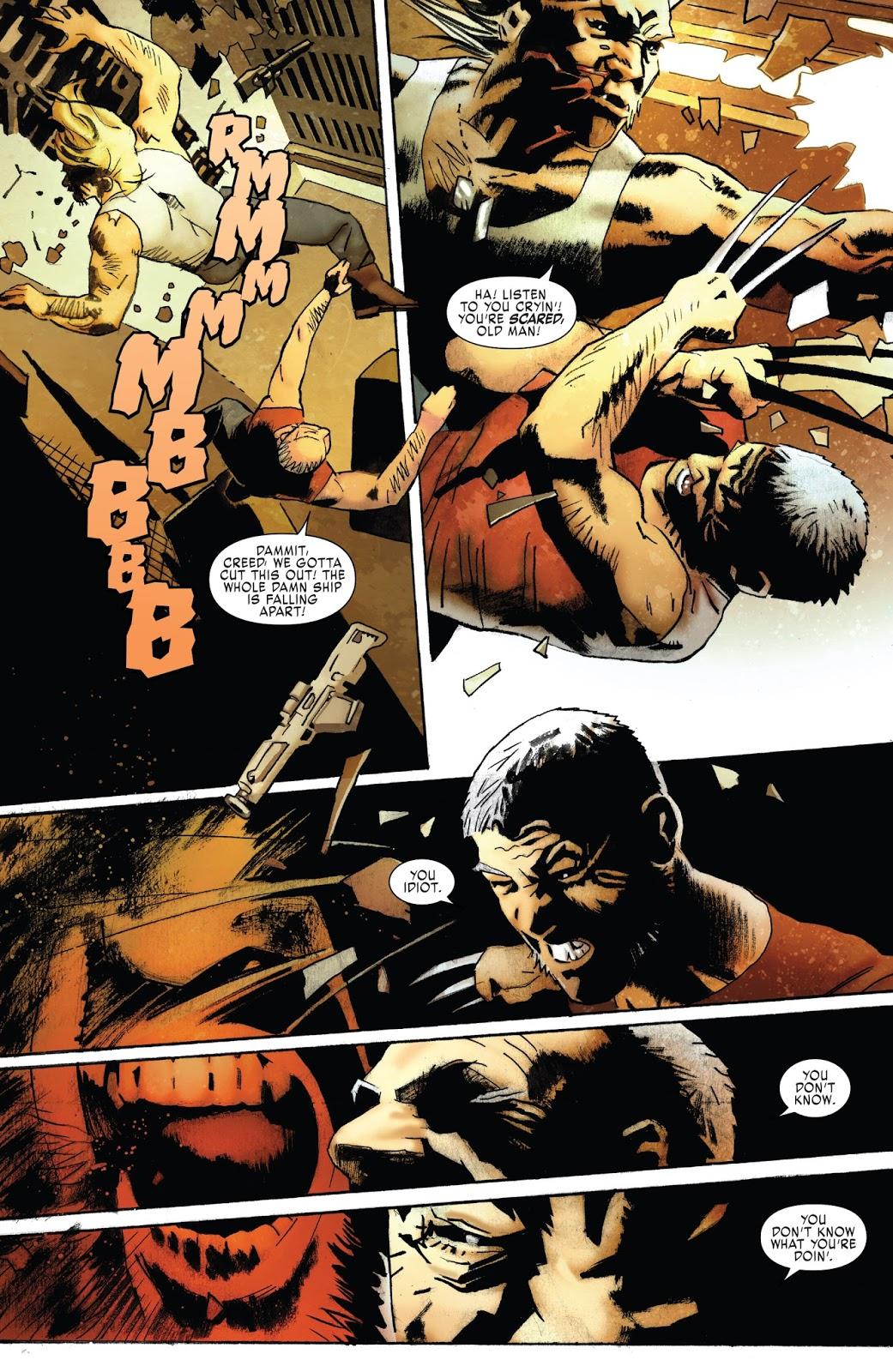 Why Old Man Logan Needs Sabretooth