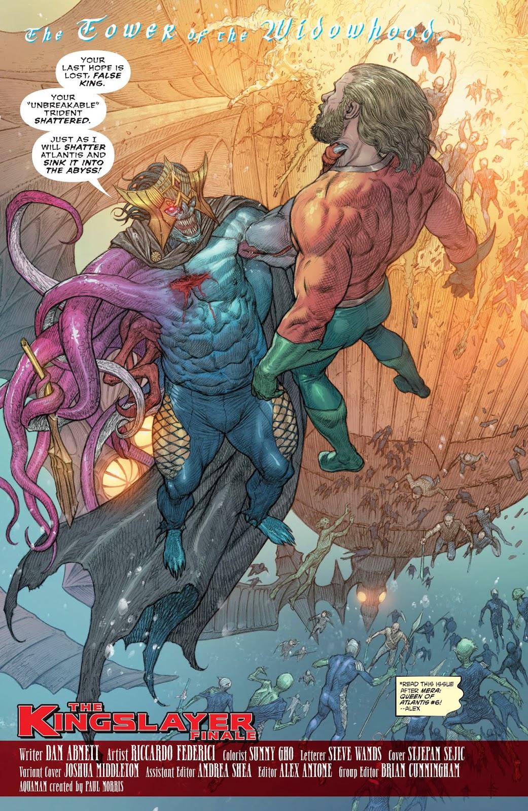 Corum Rath (Aquaman Vol. 8 #36)