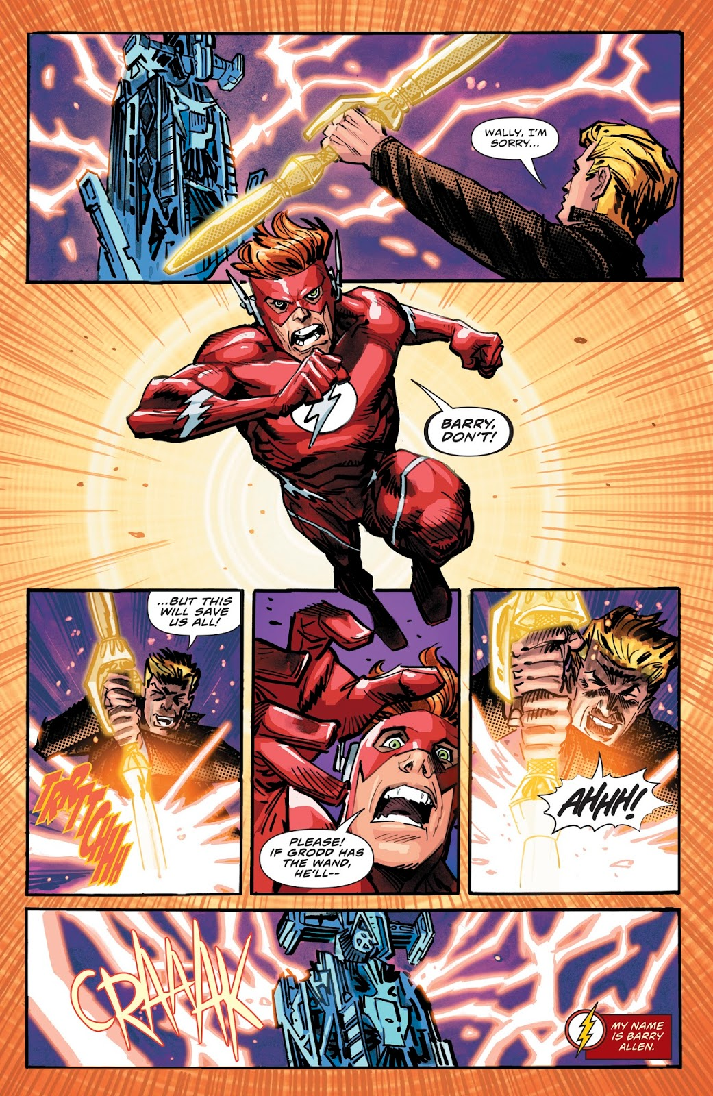 Gorilla Grodd Mind Controls The Flash Family