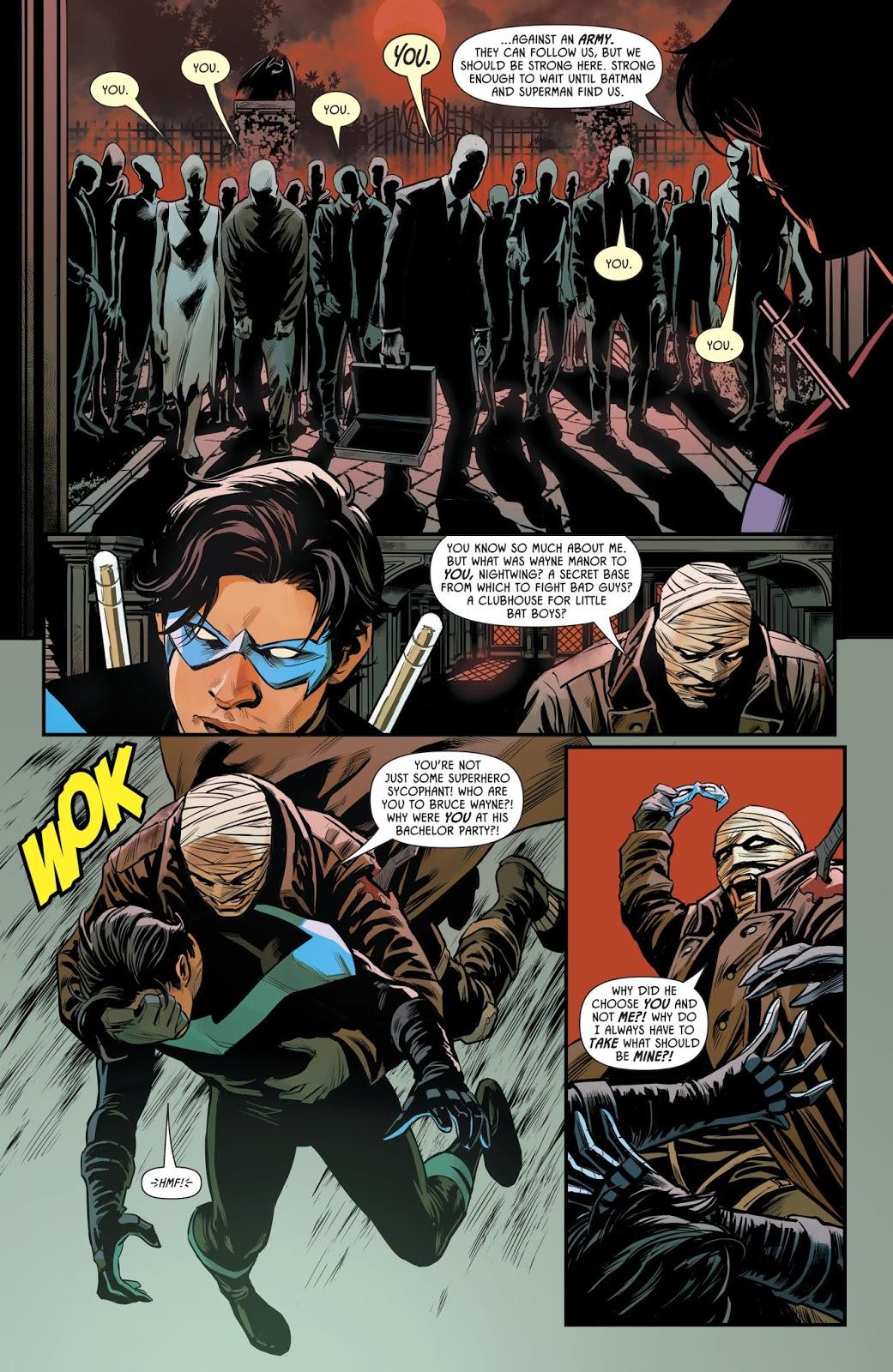 Hush Copies Dick Grayson's Face