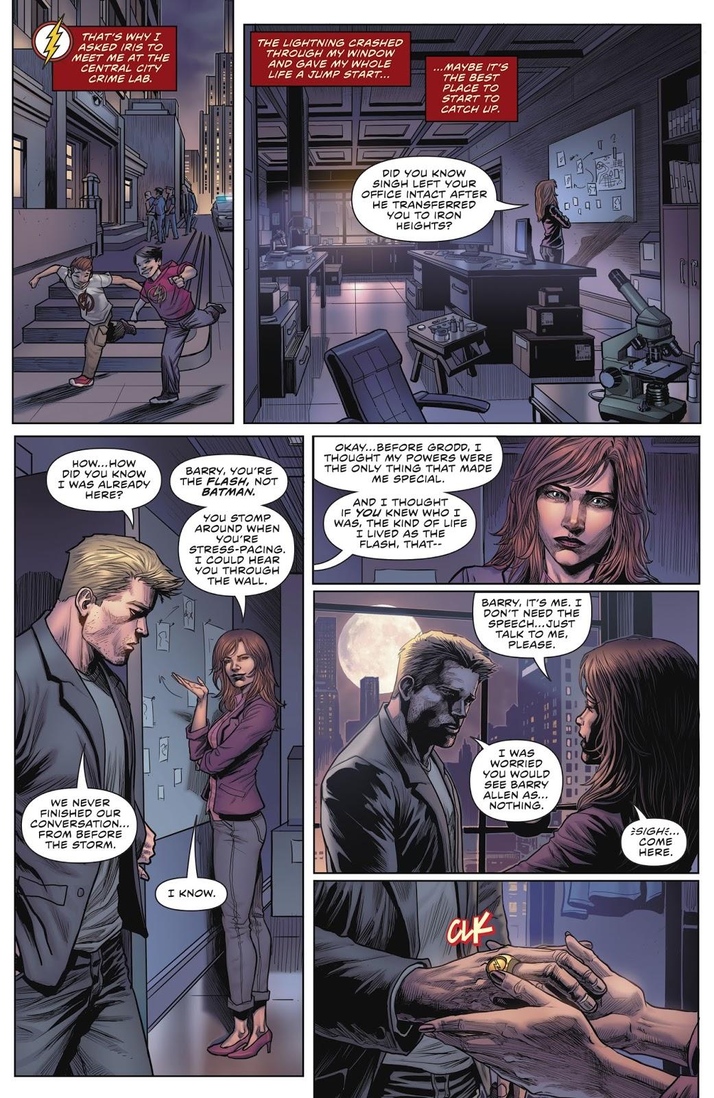Iris West Loves Barry Allen (Rebirth)