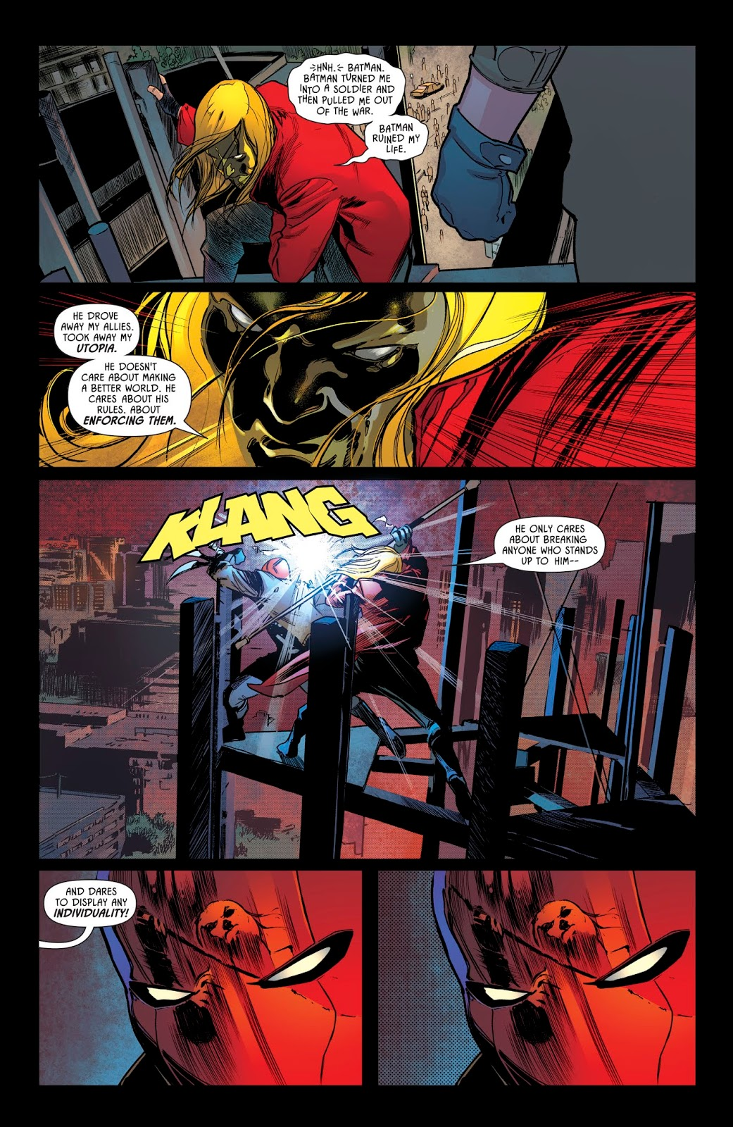 Red Hood VS Anarky (Batman Prelude To The Wedding)