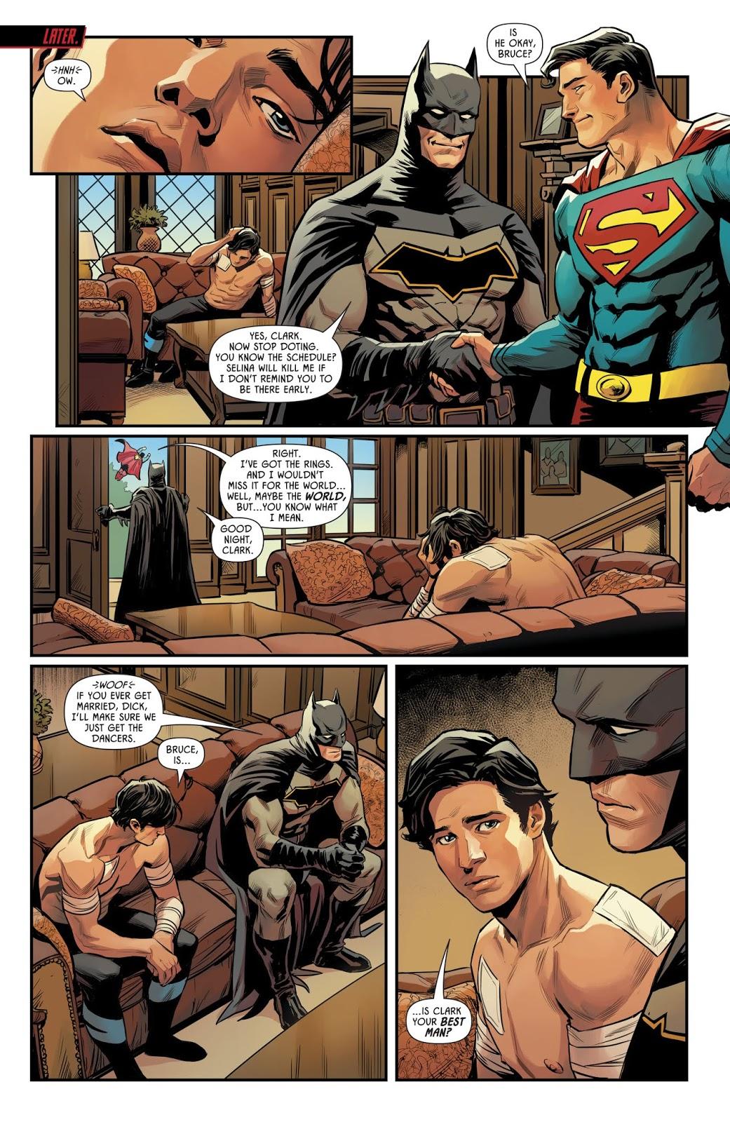 Superman Is Batman's Best Man For The Wedding