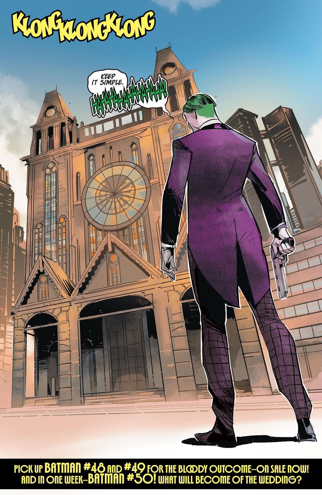 The Joker (Batman Prelude To The Wedding)