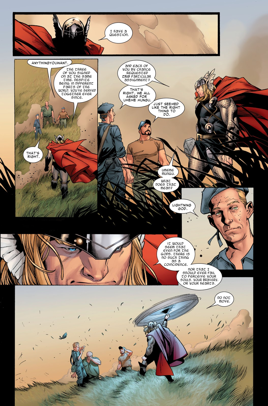 Thor Brings The Warriors 3 Back To Life