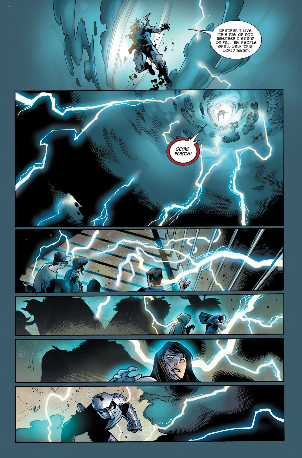 Thor VS The Destroyer (Thor Vol. 3 #5)