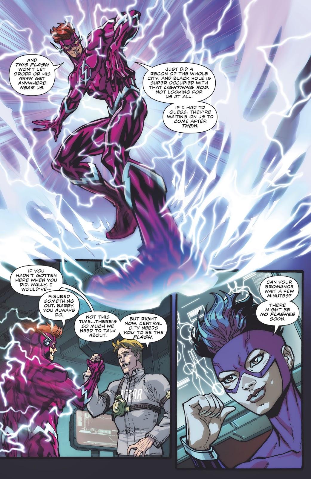 Wally West (The Flash Vol. 5 #41)