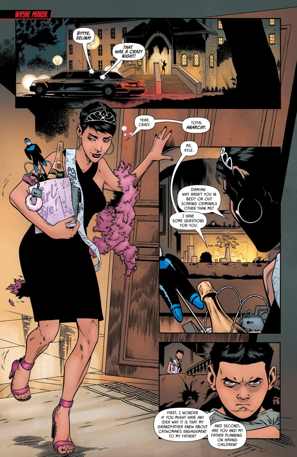Why Catwoman Doesn't Want To Have Kids