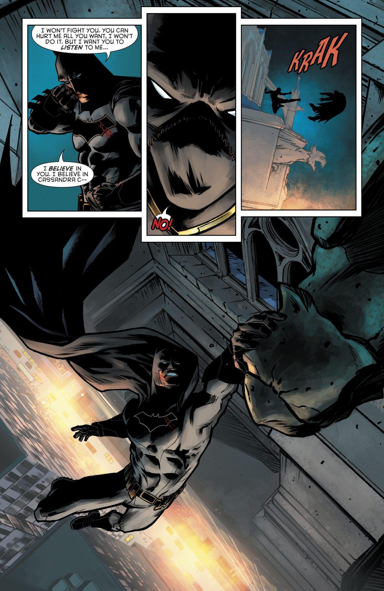 Batman VS Orphan (Detective Comics Vol 1 #953)