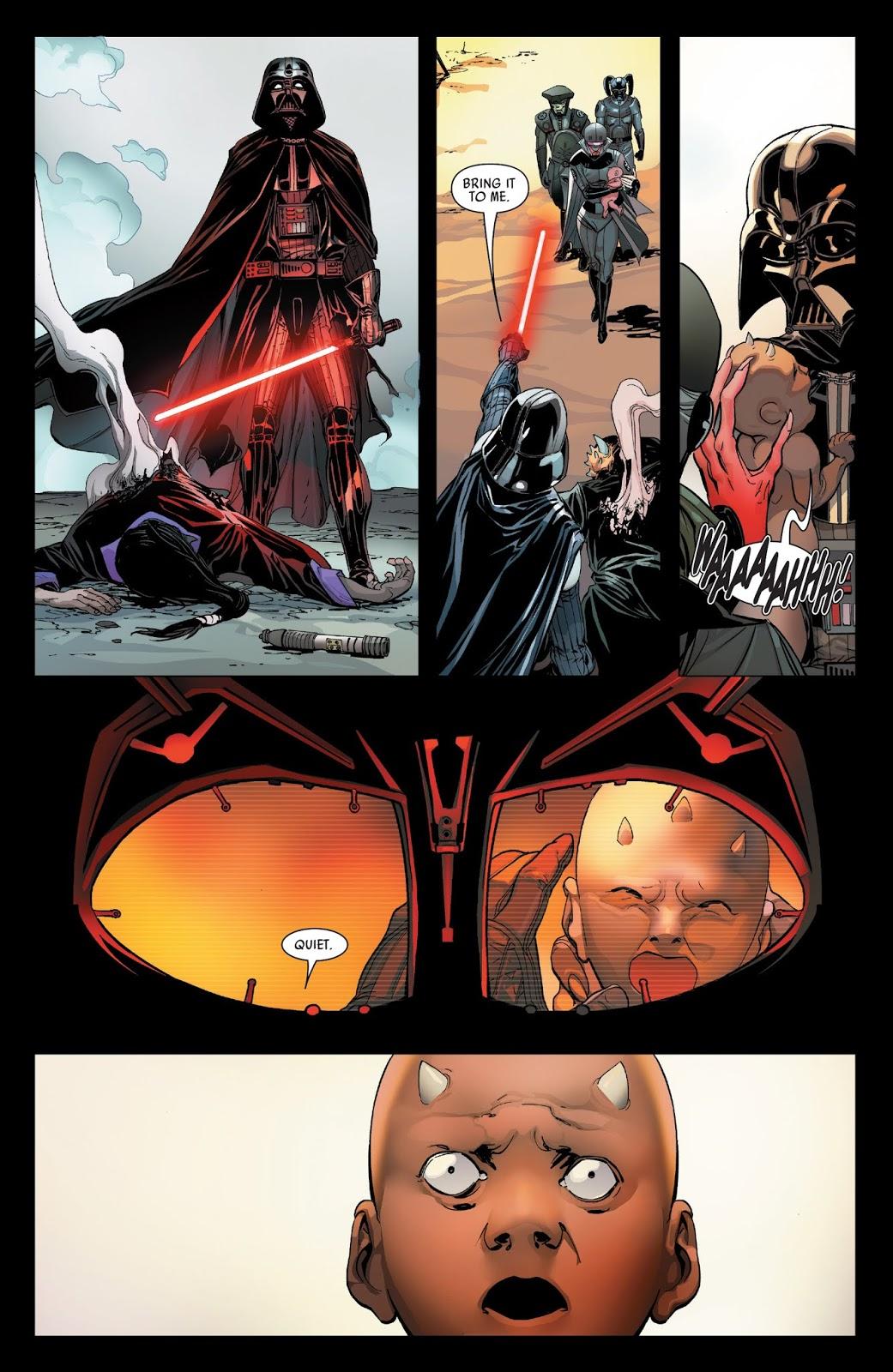 Darth Vader VS Eeth Koth