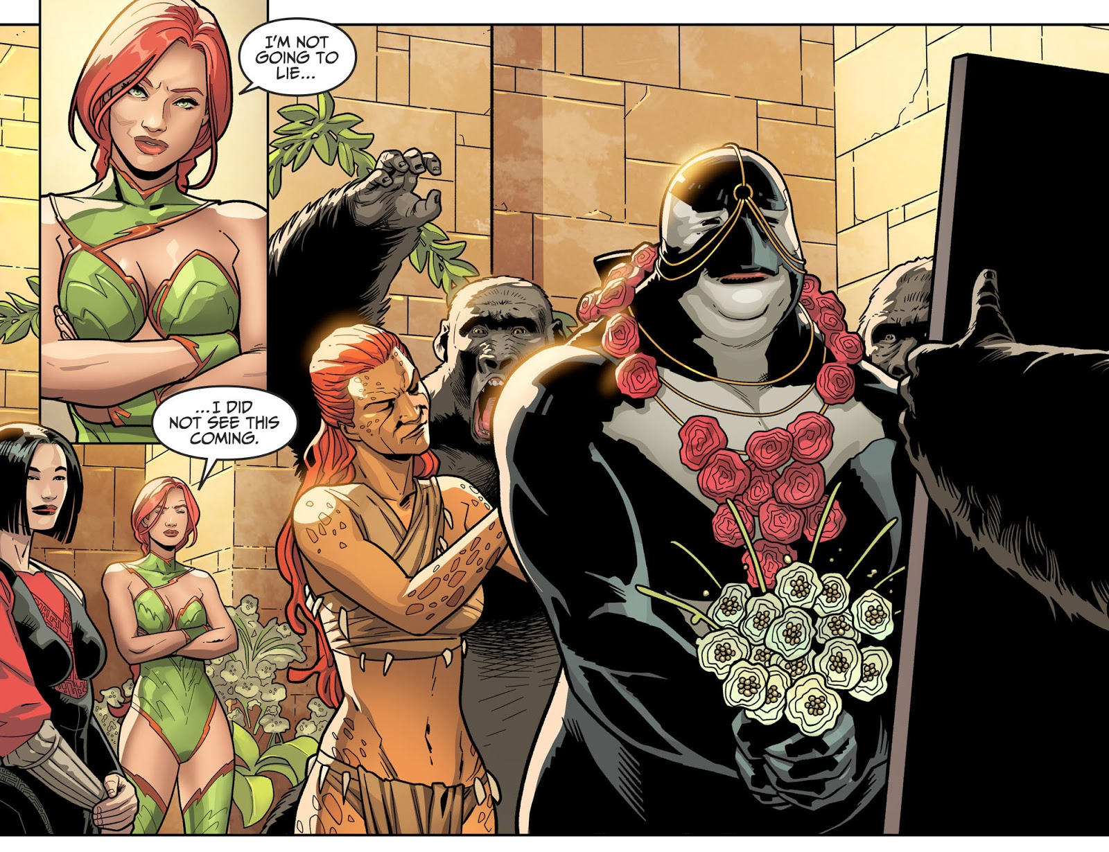 Killer Croc And Orca's Wedding (Injustice II)