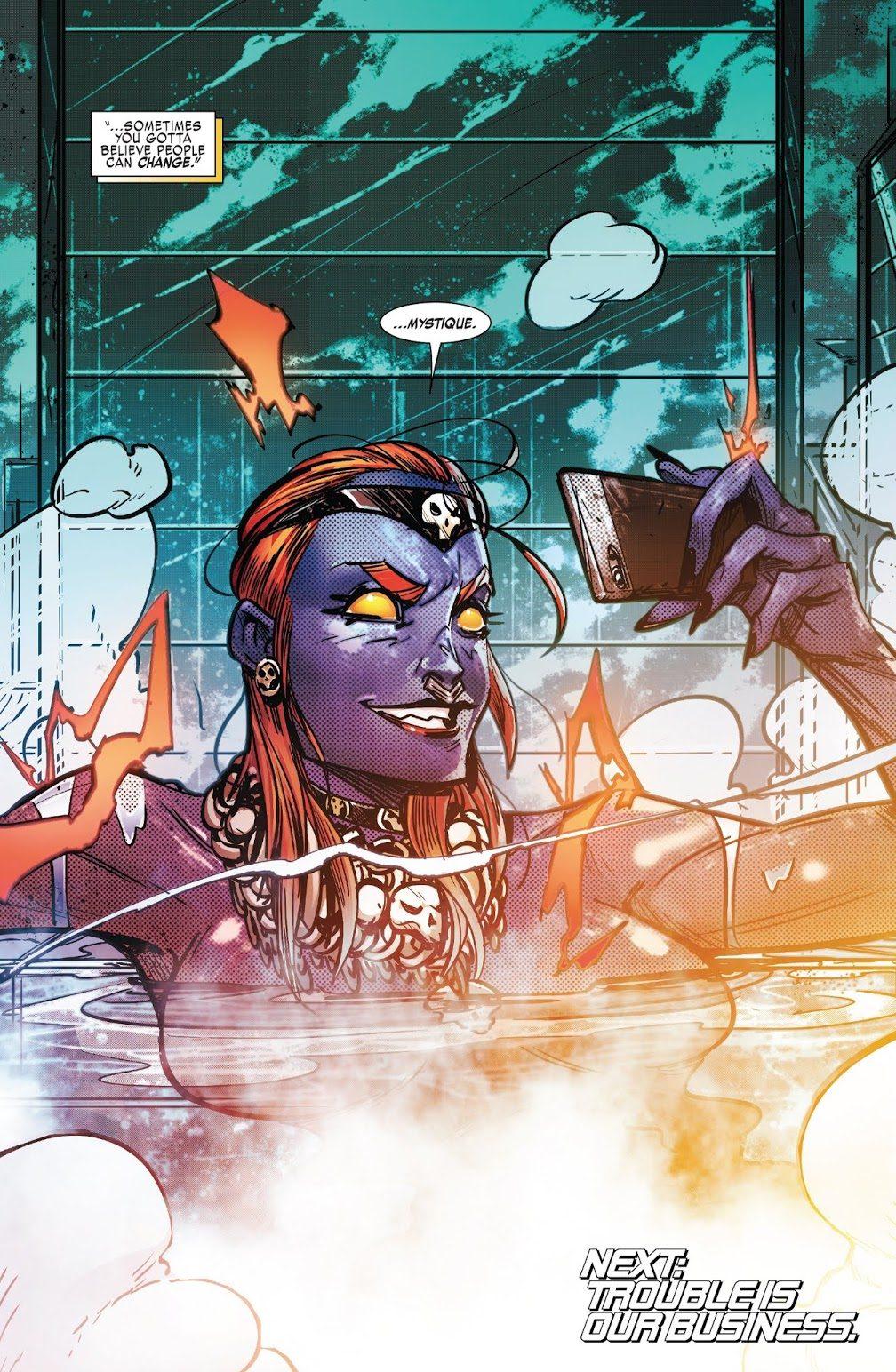 Mystique (Weapon X Vol. 3 #21)