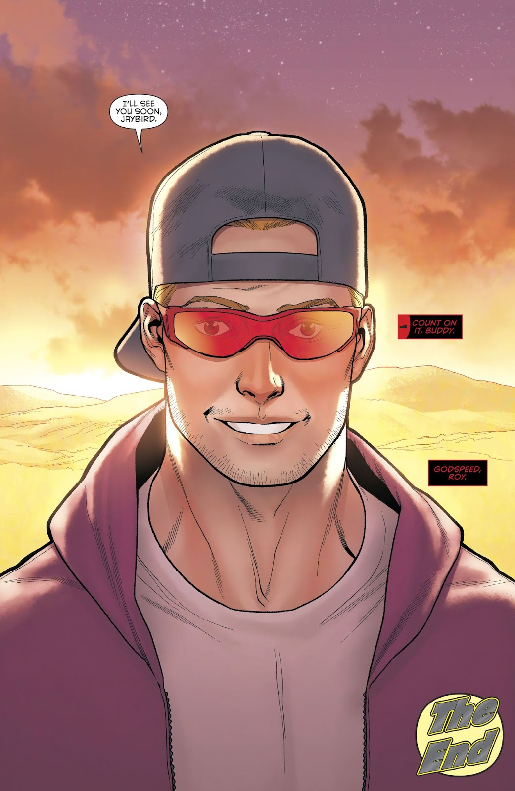 Roy Harper (Red Hood And The Outlaws Vol. 2 Annual 2)