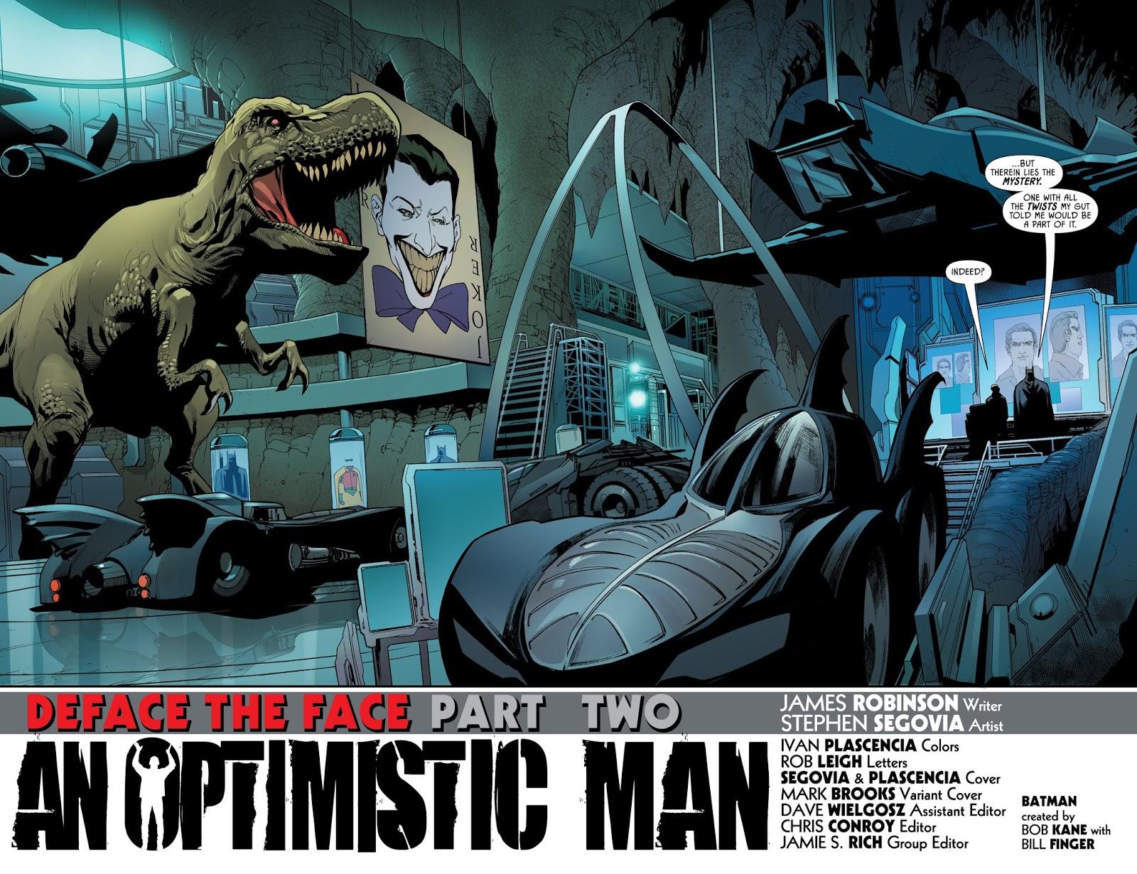 Batcave (Detective Comics #989)