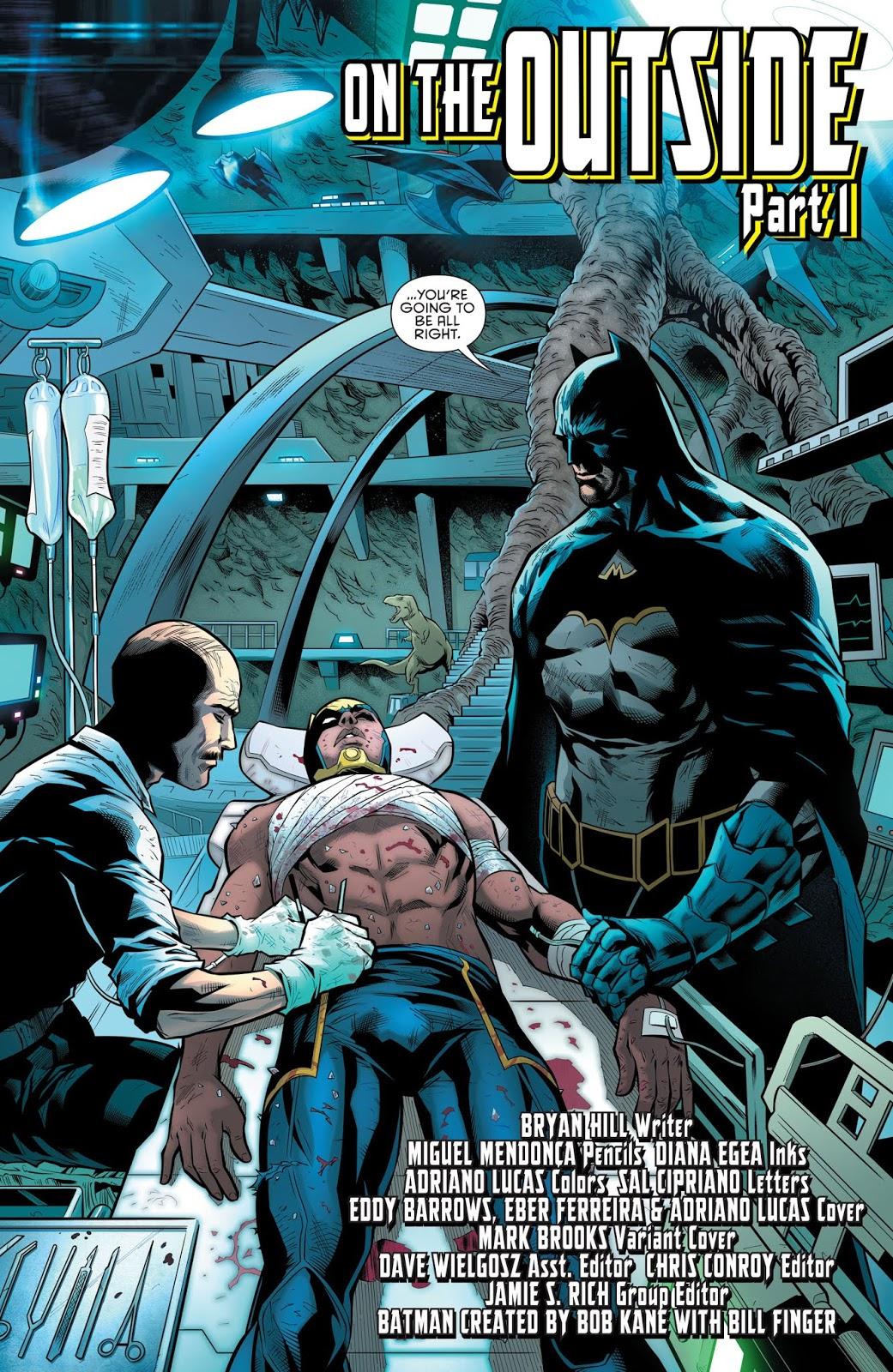 Batman And The Signal (Detective Comics Vol. 1 #983)