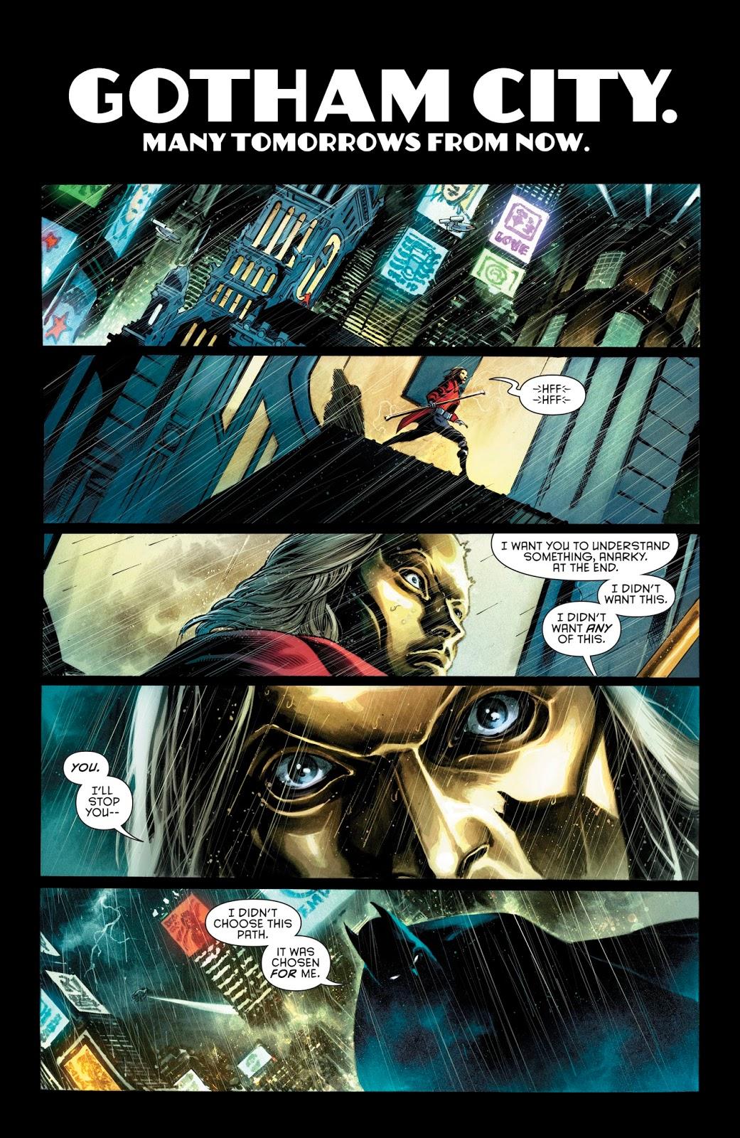 Batman (Tim Drake) Kills Anarky (Rebirth)