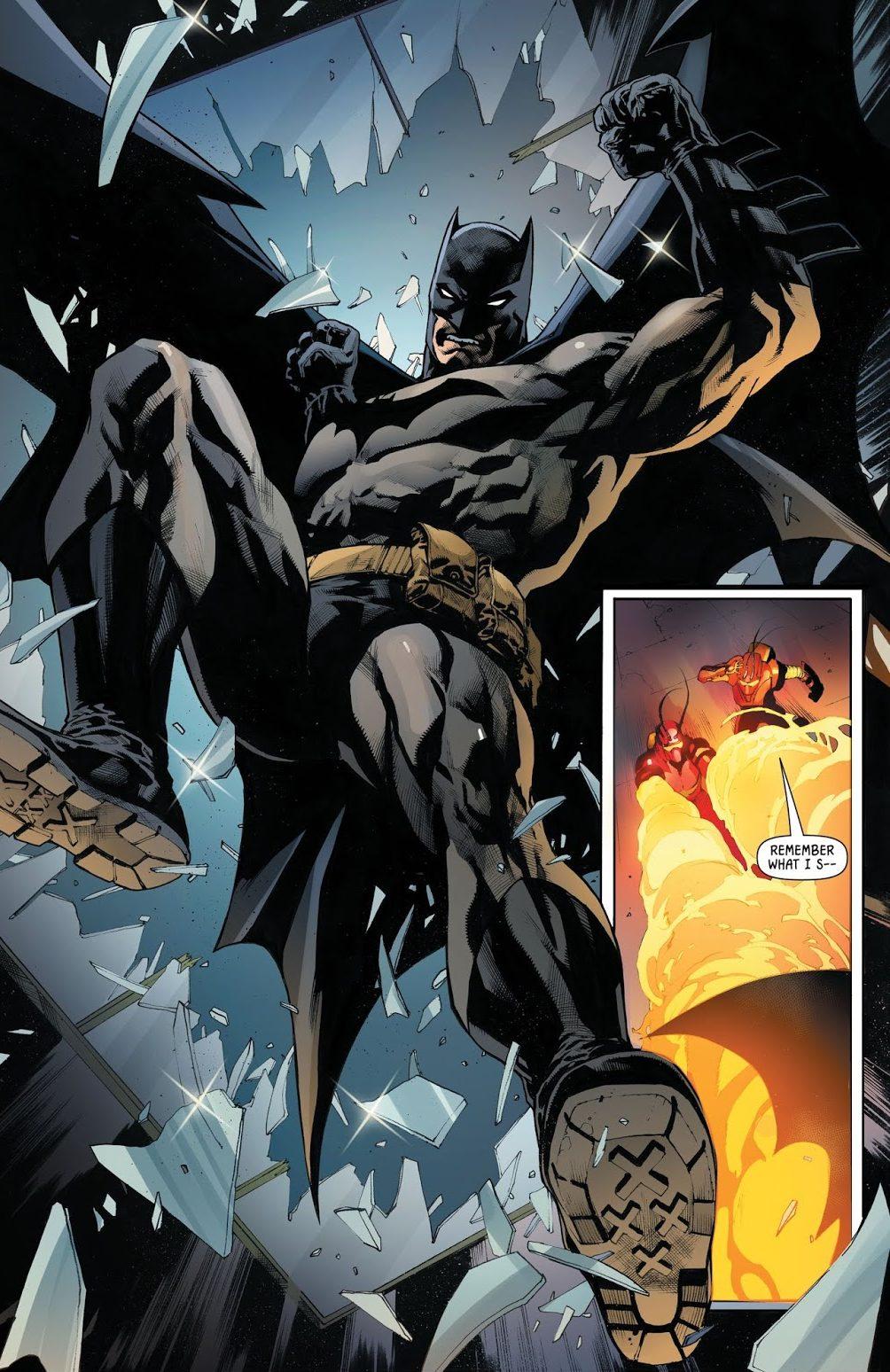 Batman VS 2 Fireflies (Rebirth)