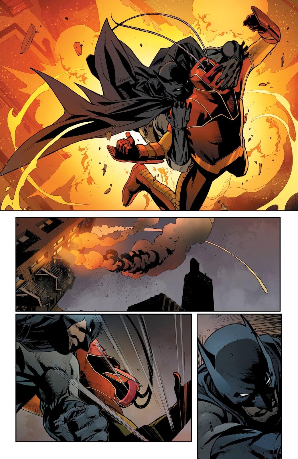 Batman VS Firefly (Detective Comics Vol. 1 #988)
