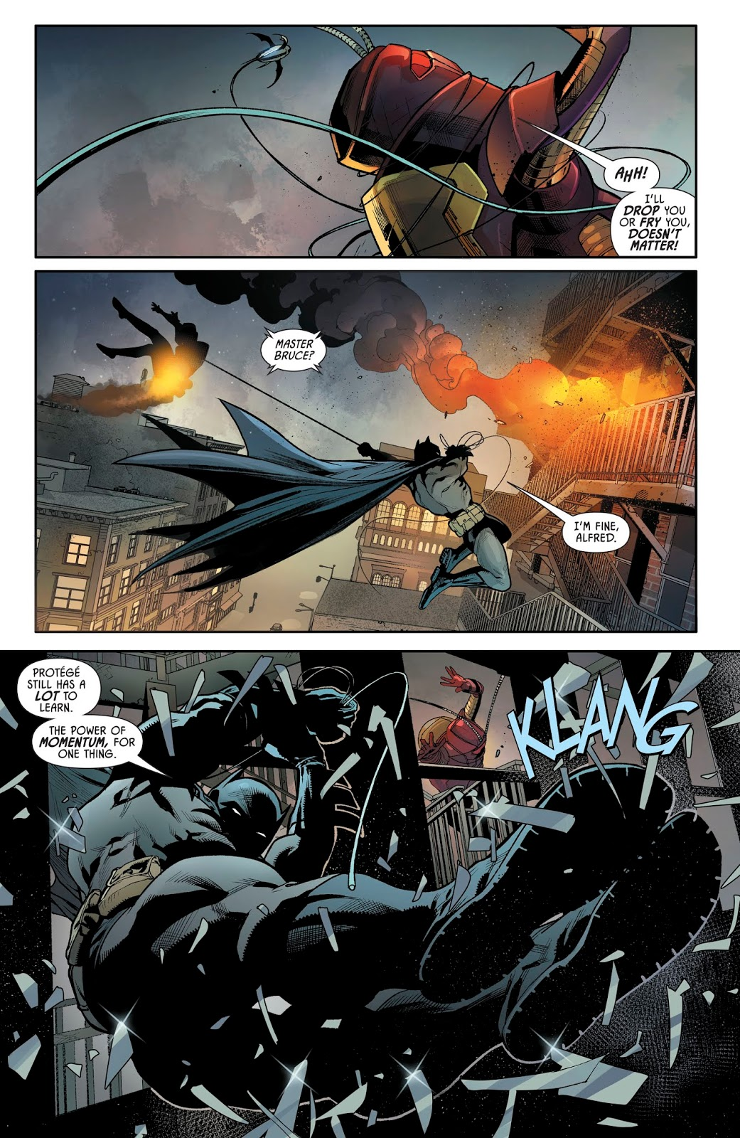 Batman VS Lady Firefly