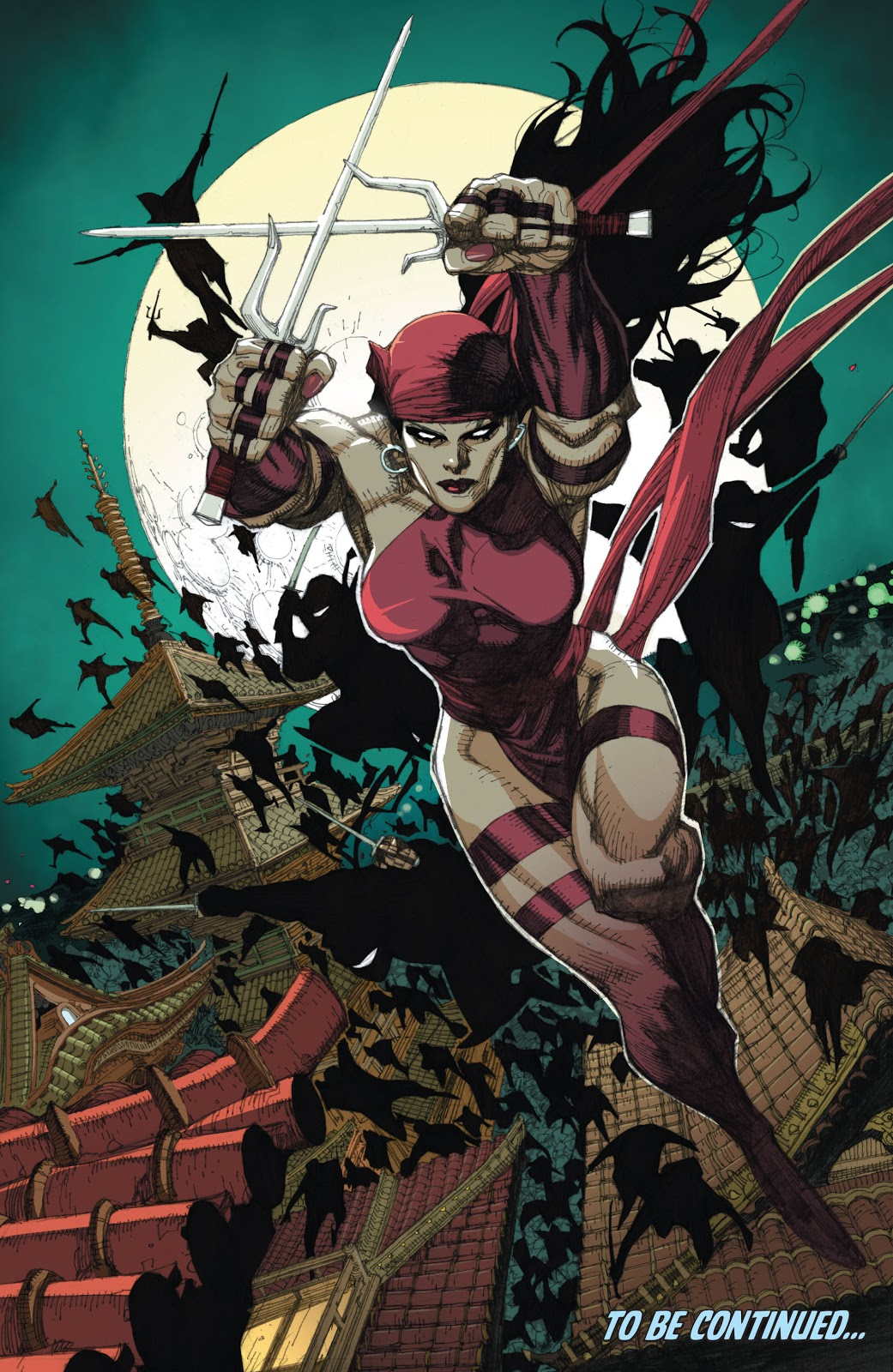 Elektra And The Hand (New Avengers Vol. 1 #28)