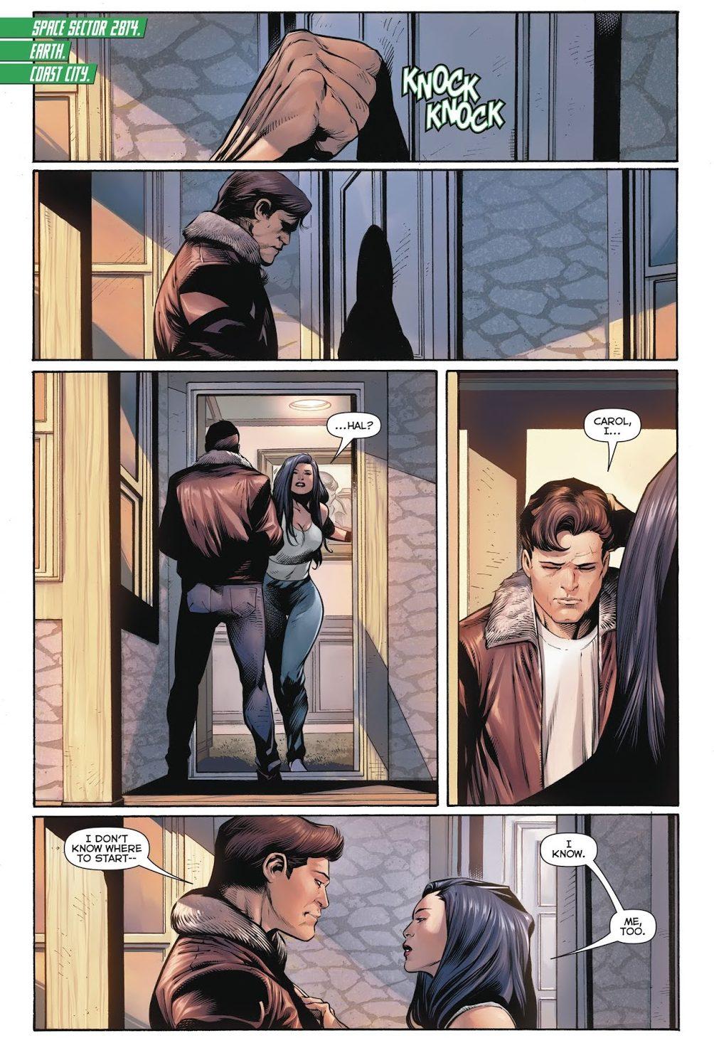 Hal Jordan And Carol Ferris (Hal Jordan And The Green Lantern Corps #50)