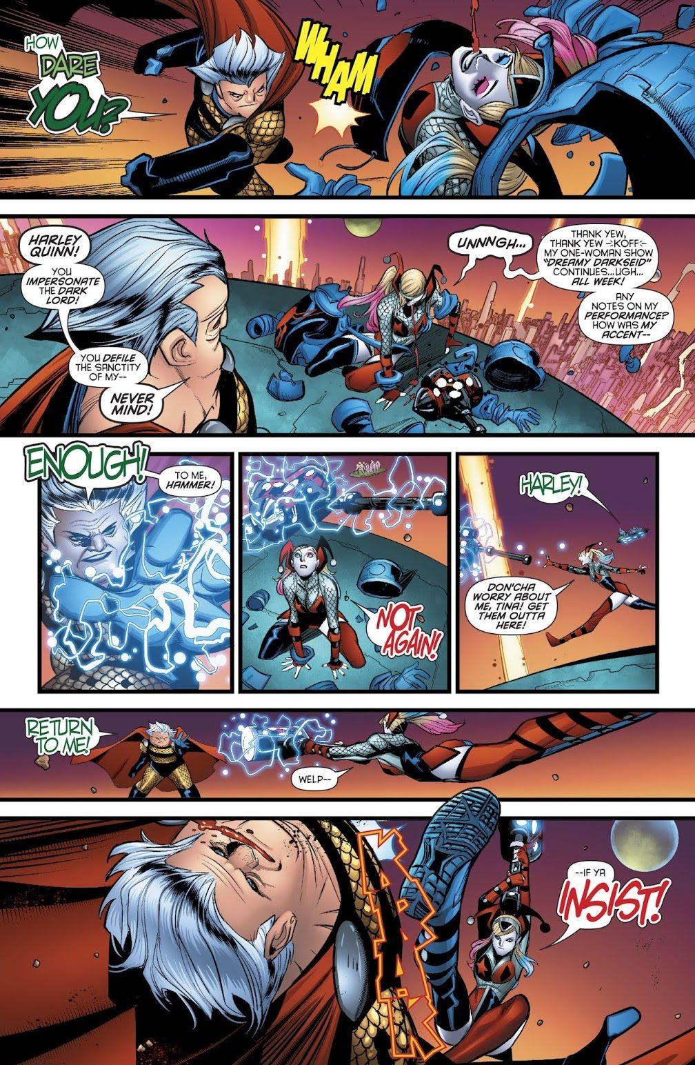 Harley Quinn VS Granny Goodness (Rebirth)