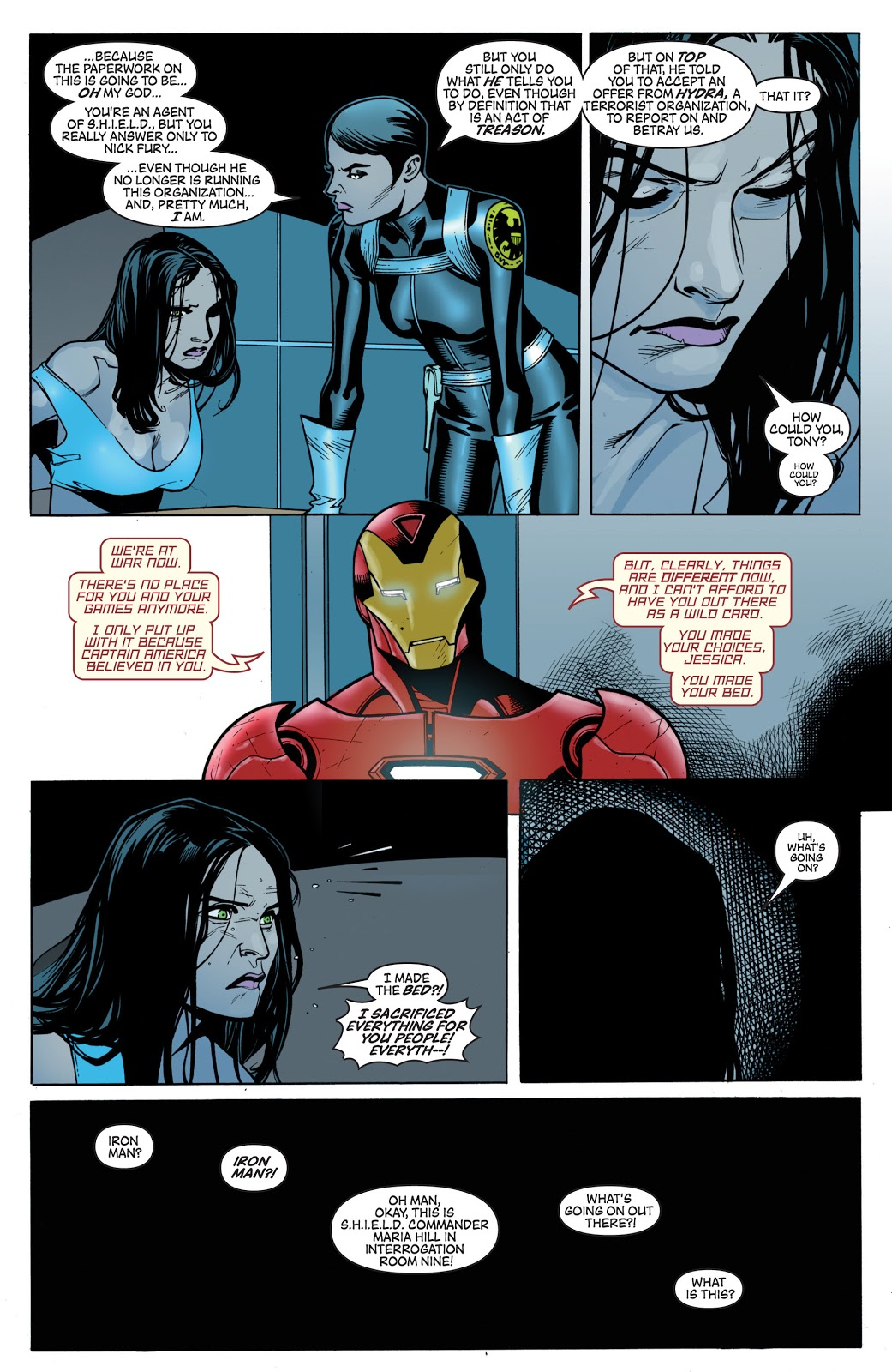 Hydra Takes Down Iron Man And SHIELD